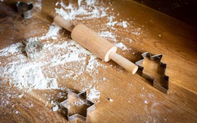 Weihnachtszeit ist Bastelzeit – DIY Anhänger aus Salzteig