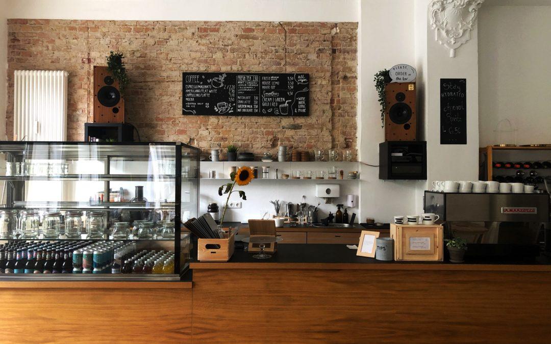 Das vegane Café Plant Base in Prenzlauer Berg