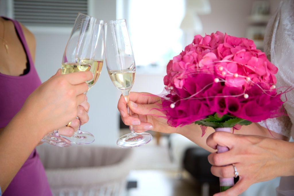 Gastgeschenke mit Glitzer